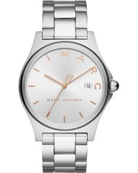 Marc Jacobs - Mj3583 Henry Classic Watch Silver - Lyst