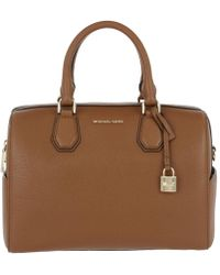 Michael Kors | Mercer Md Duffle Bag Leather Luggage | Lyst
