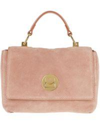 9660a98e42f146 On sale Coccinelle - Liya Suede Crossbody Bag New Pivoine - Lyst
