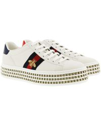 6afed3bdf Gucci Shoes - Heels, Wedges, Boots & Trainers Online Sale - Lyst