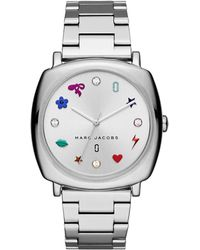 Marc Jacobs - Mj3548 Mandy Classic Watch Silver - Lyst