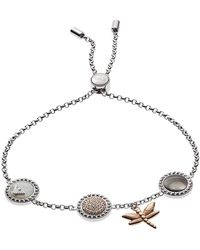 Emporio Armani - Eg3350040 Bracelet Silver - Lyst
