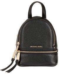 beecd9d9f087 Michael Michael Kors Women's Rhea Zip Studded Xs Messenger Backpack ...