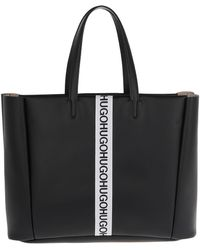 HUGO - Kingston Tote Black - Lyst