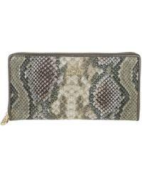 La Martina - Woman Wallet Bonaerensa Snake Multicolour - Lyst