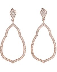 Thomas Sabo - Glam And Soul Fatima's Garden Earrings Rosegold - Lyst