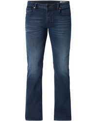 DIESEL - Stone Washed Bootcut Jeans - Lyst