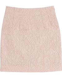 Mary Katrantzou Jacquard Mini Skirt - Lyst