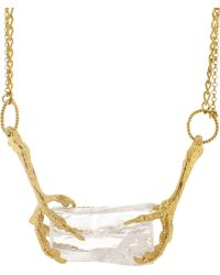 Tessa Metcalfe - Ice Crystal Necklace - Lyst