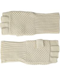 Michael Stars - Seed Stitch Cashmere Blend Fingerless Glove - Lyst