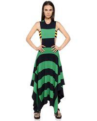 Stella McCartney Compact Viscose Blend Knit Dress - Lyst