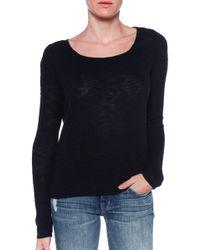 American Vintage Oram Long Sleeve Sweater - Lyst
