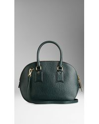 Burberry The Small Orchard in Signature Grain Leather - Lyst