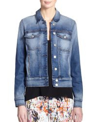 7 For All Mankind Classic Denim Jacket - Lyst