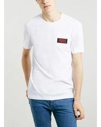 Topman Paris Print Pocket T-shirt - Lyst