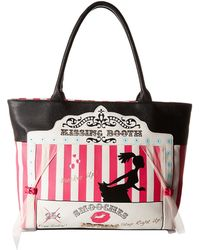 Betsey Johnson | Kitch Kissing Booth Tote | Lyst