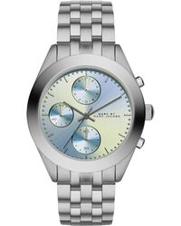 Marc By Marc Jacobs 36Mm Peeker Stainless Chronograph Watch - Lyst