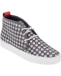 Del Toro Perforated Chukka Sneakers - Lyst