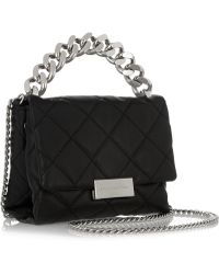 Stella McCartney - Soft Beckett Small Quilted Faux Leather Shoulder Bag - Lyst