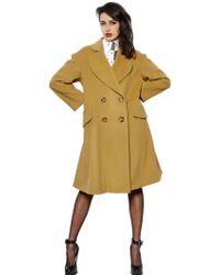 Vivienne Westwood Wool & Cashmere Blend Coat - Lyst