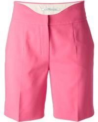 Agnona - Curved Waist Shorts - Lyst