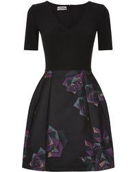 Pinko Rose Boca Dress - Lyst