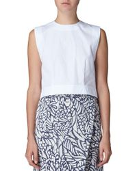 Maiyet Sleeveless Crew Shell Top - Lyst