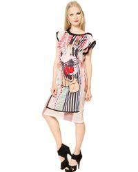 Venera Arapu Mickey Mouse Soft Cotton Jersey Dress - Lyst