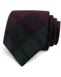 Todd Snyder - Plaid Wool Skinny Tie - Lyst