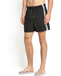 Calvin Klein Mens Logo Shorts - Lyst
