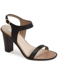 Cole Haan 'Cambon' Leather Ankle Strap Sandal black - Lyst