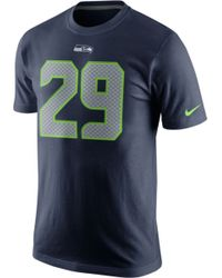 Nike Mens Earl Thomas Seattle Seahawks Pride Name and Number T-shirt - Lyst