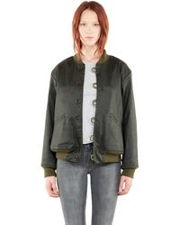 Current/Elliott The Loop Button Jacket - Lyst