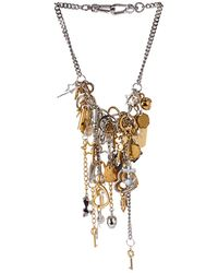 Marc By Marc Jacobs - Multi-Charm Necklace - Lyst