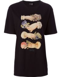 Undercover Hand Print T-shirt - Lyst