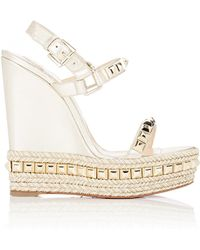 best replica christian louboutin shoes website - Shop Women's Christian Louboutin Wedges | Lyst