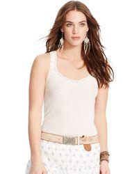 Denim & Supply Ralph Lauren - Lace-trim Camisole - Lyst