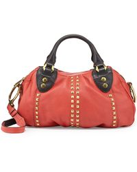 Oryany Mariah Studded Small Satchel Bag - Lyst