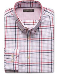 Banana Republic Tailored Slim-Fit Non-Iron Bold Check Shirt - Lyst