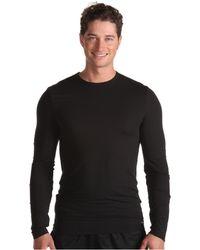 Calvin Klein Micro Modal Sleepwear Ls Crew - Lyst