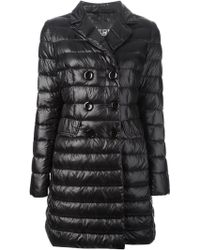Herno Long Padded Jacket - Lyst