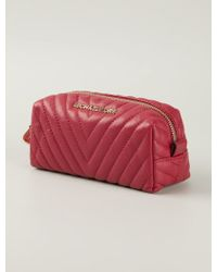 MICHAEL Michael Kors Quilted Make-up Bag - Lyst