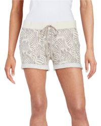 Munki Munki - Zebra Knit Shorts - Lyst