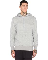 Wil Fry - Pouched Hoodie - Lyst
