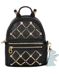Juicy Couture - Embellished Leather Mini Backpack - Lyst