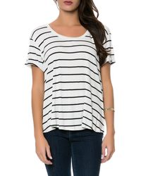 Volcom The Lived in Rib Tee - Lyst