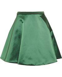 Acne Studios Fuel Shine Satin Skirt - Lyst