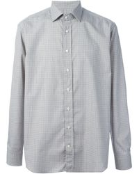 Etro Checked Shirt - Lyst
