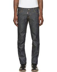 DSquared2 Indigo Slim Jeans - Lyst