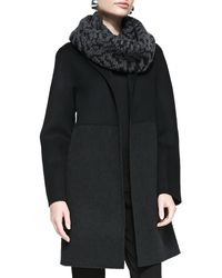 Eileen Fisher Doubleface Kneelength Coat - Lyst